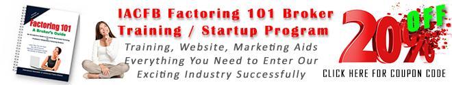 Factoring Broker Training Program